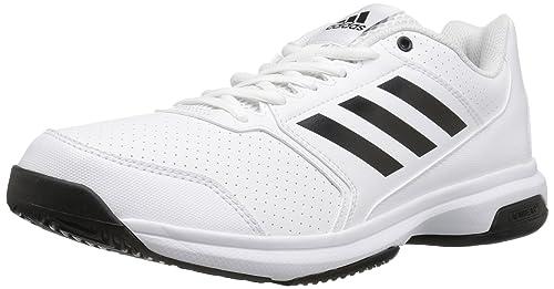 new product f178c 81886 Adidas Mens Adizero Attack Tennis Shoes, BlackWhite, ...