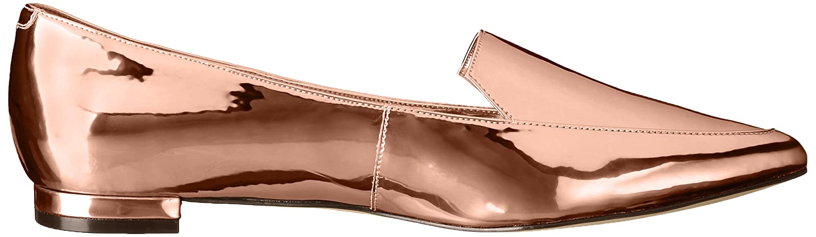 Nine West Women's Abay Patent Pointed Toe Flat US - 7