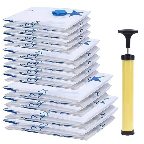 Paquete de 12 bolsas de almacenamiento al vacío Mobo Premium ...