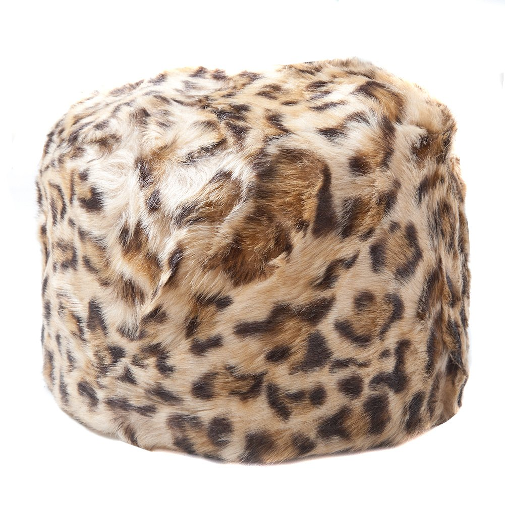 Women's Faux Fur Cossack Style Russian Hat Available in a Selection of Colours
