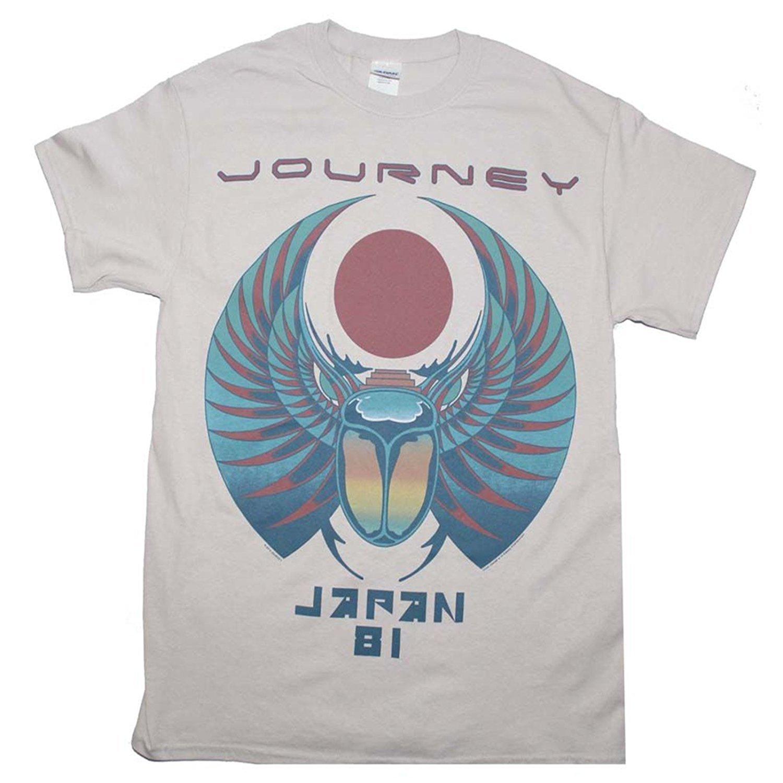 High Quality Journey Japan 1981 Tour Logo T Shirt Many Type