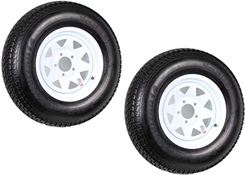 2-Pack Trailer Tire On Rim ST205/75D14 205/75 D 14 inches