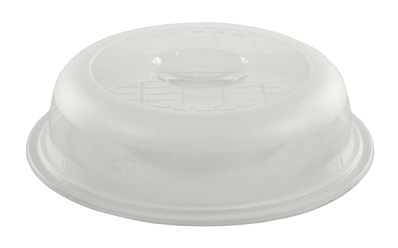 Rotho 1711390000 Mikrowellenabdeckhaube Basic- aus Kunststoff (PP) - Durchmesser 26.5 cm - transparent