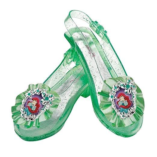 b51fcf0291e6d1 Amazon.com  Disney Princess The Little Mermaid Ariel Sparkle Shoes ...