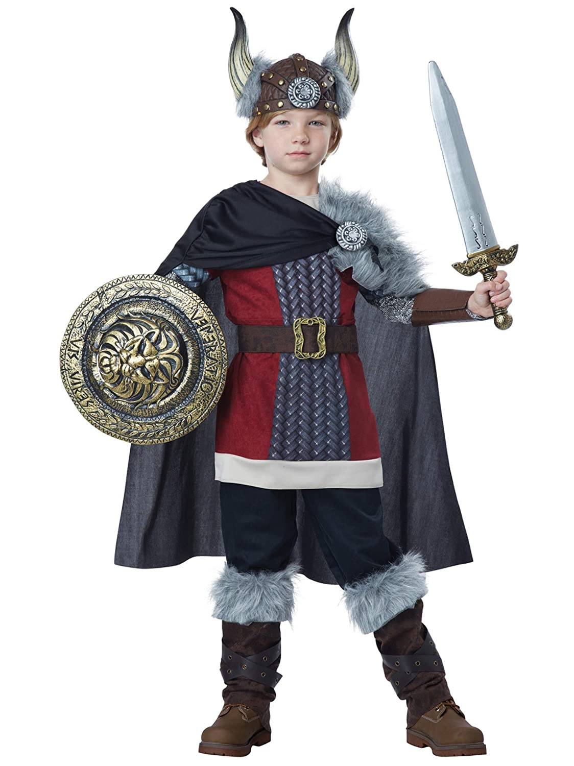 Child Venturous Viking Boy