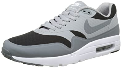 new arrival 416b5 401f8 Nike Air Max 1 Ultra Essential - Baskets Homme - Gris (noir gris loup