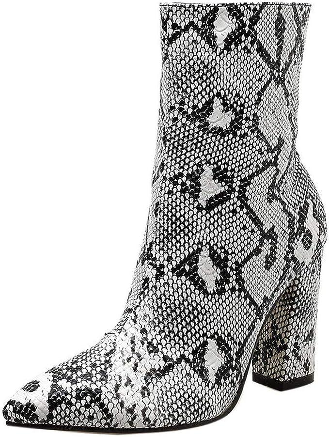 : DENER❤️ Botas medias de pantorrilla para mujer