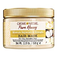 Creme Of Nature Pure Honey Hair Mask 11.5 Ounce Jar (340ml)