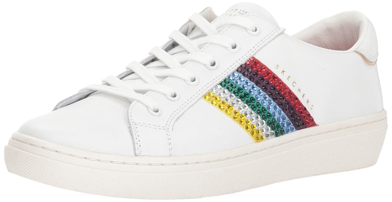 Skechers Women's Goldie-Rainbow Sneaker B0786LCLPR 9 M US|White