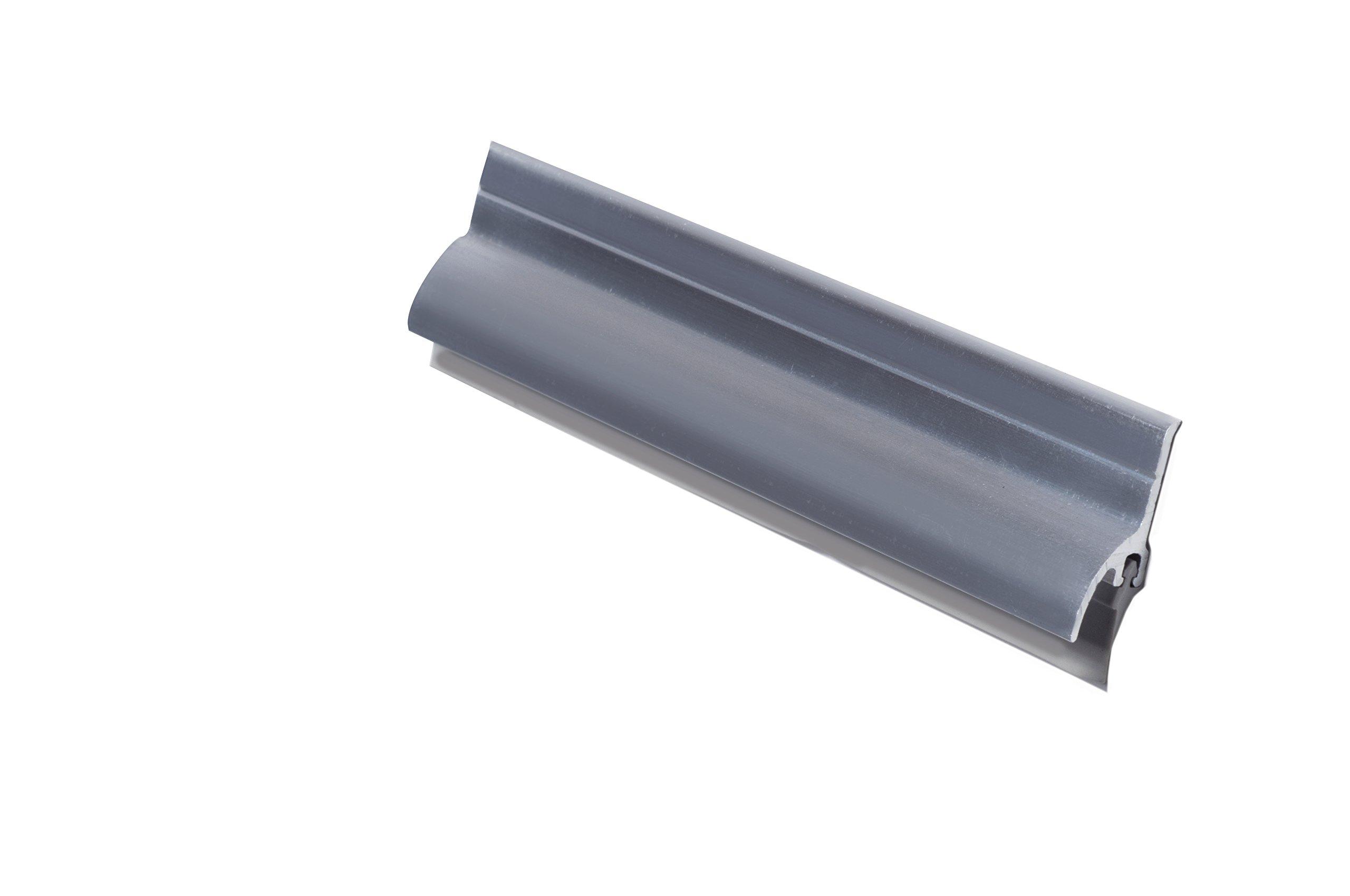 Pemko 085647 3452AV36 Door Bottom Sweep, Mill Finish Aluminum, 1.5'' Width, 36'' Length, Aluminum by Pemko