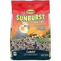 Higgins Sunburst Cockatiel Bird Food Gourmet Mix 3 lb. Bag, Fast Free Delivery