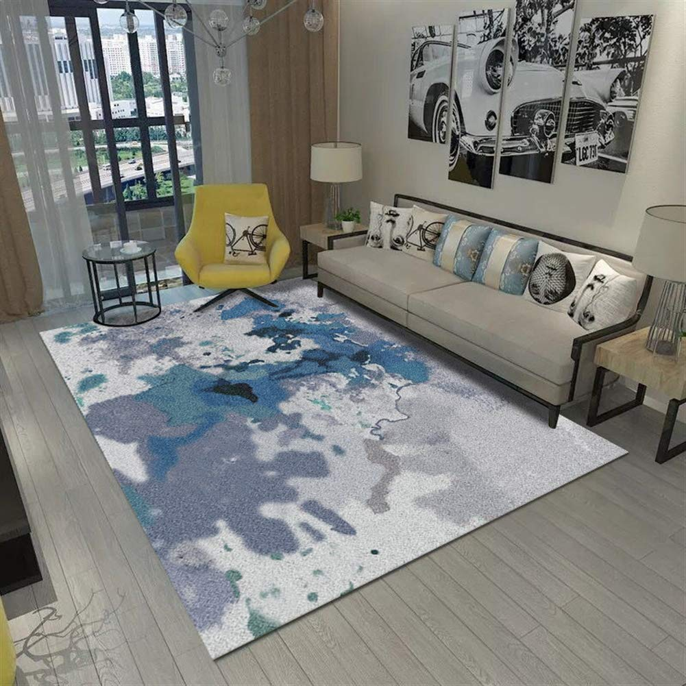 Insun Teppich Teppich Teppich Skandinavischer Stil Teppich Moderner Geometrische Formen Teppich Anti Rutsch Abwaschbarer Stil 24 160x200cm B07KC6ZVQN Teppiche 73165e