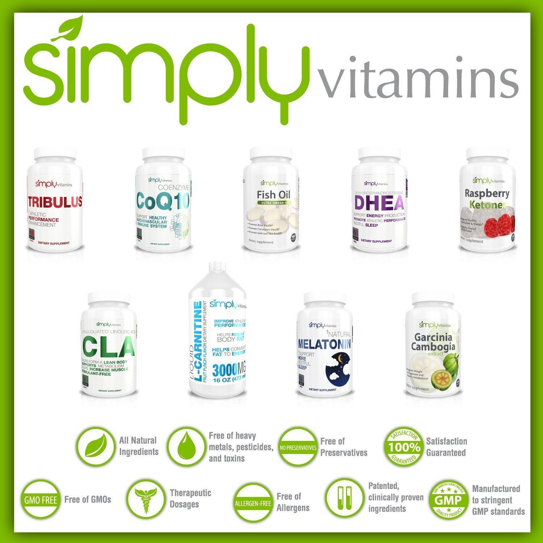 Amazon.com: Simply Vitamins Natural Melatonin 3mg 100 Tablets - All Natural Non Habit Forming Sleep Aid - Promotes a More Restful Sleep * Free Bonus Ebook ...