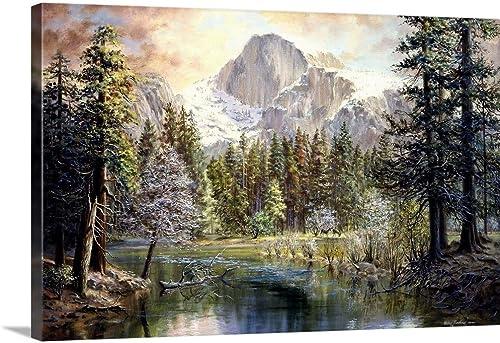 Natures Wonderland Canvas Wall Art Print