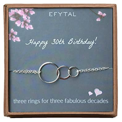 Image Unavailable Not Available For Color EFYTAL 30th Birthday Gifts Women