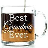 Got Me Tipsy Best Grandma Ever Coffee Mug - Birthday Gift Idea for Grandmother, Gifts for Women - 13-Ounce, Glass