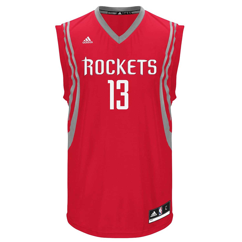 NBA Houston Rockets James Harden # 13メンズレプリカジャージー 4X-Large Road B01LN7H1DW