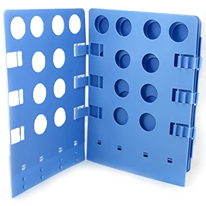 VABNEER Tabla de Doblar la Ropa Tablero Plegable de Ropa Plegable Plegable Carpeta de lavandería para