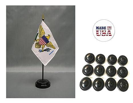 United States Virgin Islands Small Hand Waving Flag