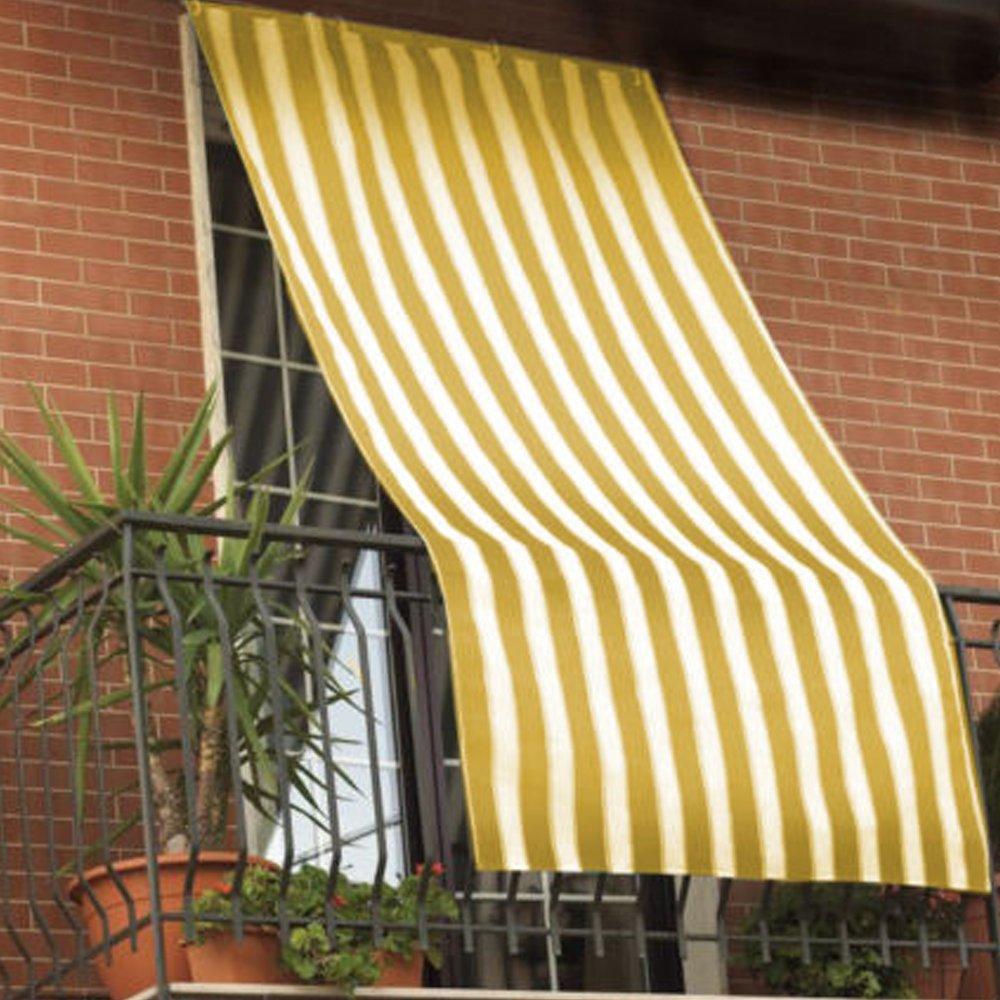 COINGROSTEX Tende Da Sole Per Esterno Con Anelli, Misura: 145x300cm ...