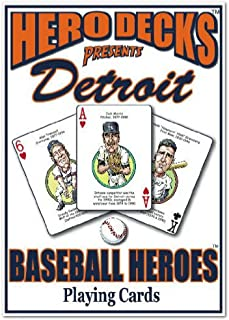 product image for Channel Craft Hero Decks - Detroit Tigers - Playing Cards