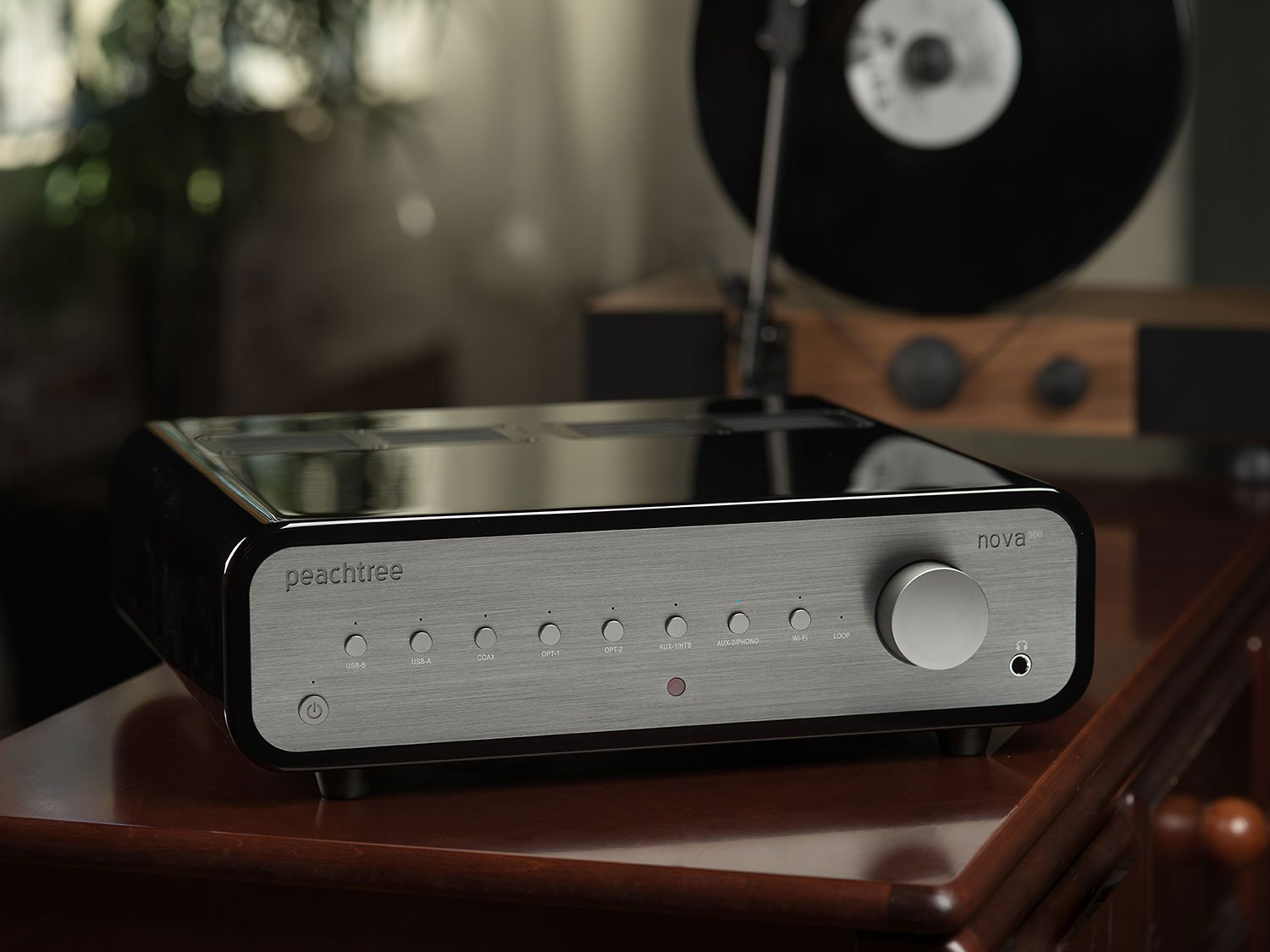 Amazon.com: Peachtree Audio nova300 Integrated Amplifier with DAC (Piano Black): Home Audio & Theater