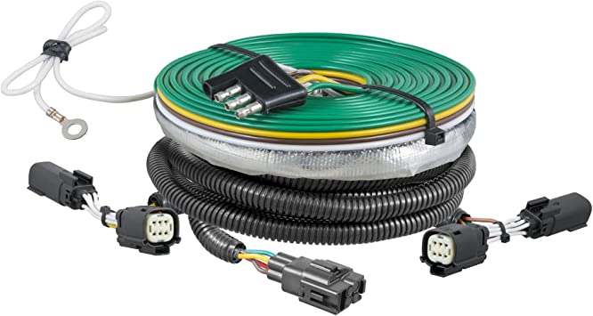 Amazon.com: CURT 58941 Custom Towed-Vehicle RV Wiring Harness for Dinghy  Towing Select Ford Flex: AutomotiveAmazon.com