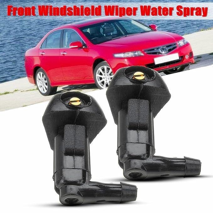 2 piezas de limpiaparabrisas para coche con boquilla de lavado de ...