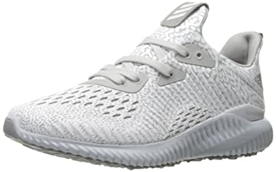 timeless design e608c 5c6c5 adidas Boys Alphabounce AMS j Running Shoe, Clear Light OnixMedium Grey  Heather