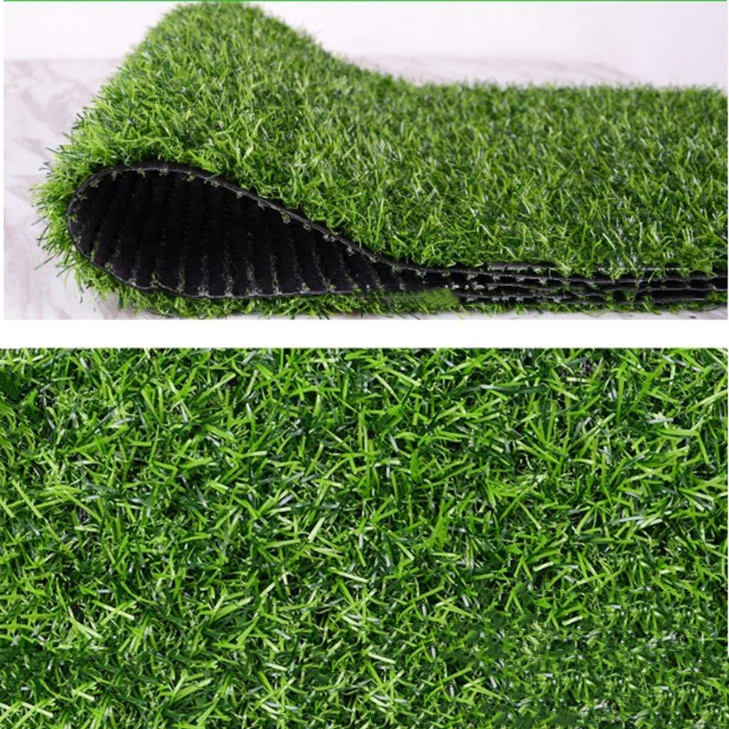 YNFNGXU 25ミリメートルパイル高さ暗号化肥厚人工芝カーペット壁面サーフェス緑化偽芝生2×1メートル(春草) (サイズ さいず : 8x1m) B07RV3WS49  8x1m