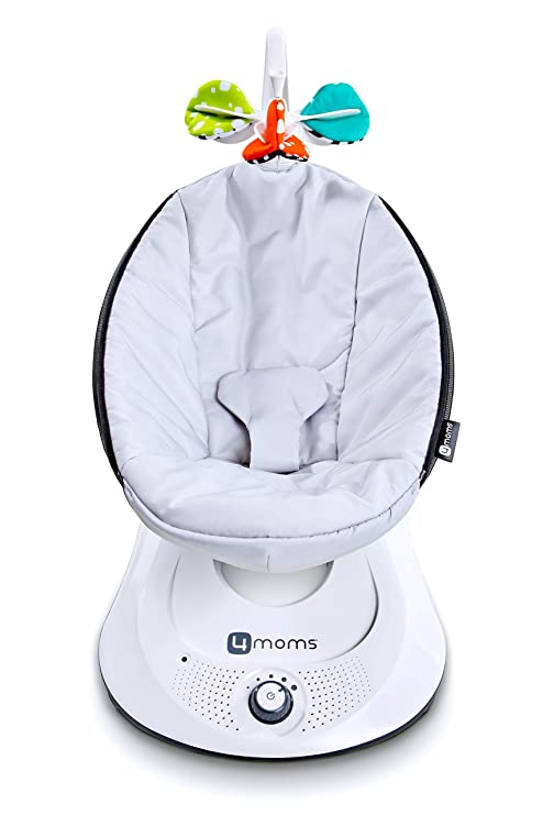 Incredible 4Moms Rockaroo Compact Baby Swing Baby Rocker With Front To Back Gliding Motion Classic Nylon Fabric From The Makers Of The Mamaroo Gmtry Best Dining Table And Chair Ideas Images Gmtryco