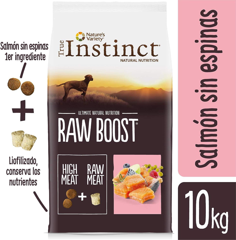 True Instinct Raw Boost - Natures Variety - con Salmón - 10kg ...