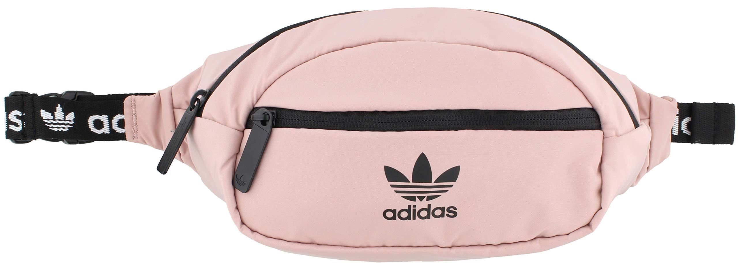 adidas Originals Unisex National Waist Pack, Pink Spirit/Black, ONE SIZE by adidas Originals