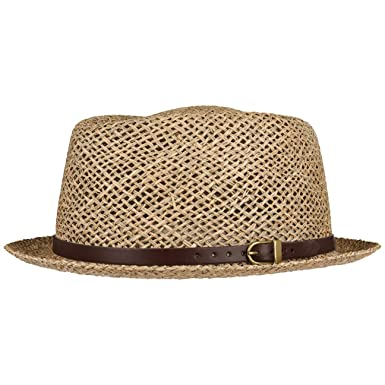 2b803a5d20be83 Lipodo Coyuca Vented Pork Pie Straw Hat | Sun hat Men and Women | Hat Made