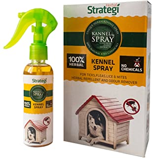 Strategi Kennel Spray Herbal Protection From Ticks Fleas Lice And Mites In The