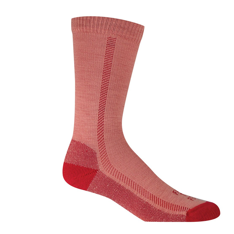 Farm to Feet Madison Lightweight Hiking Crew Socks, Collegiate Red, Small by Farm to Feet