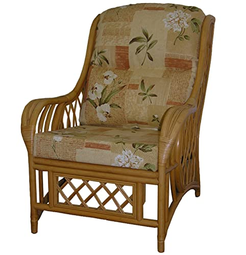 Cane Furniture Replacement Cushions for Rattan Armchairs ...