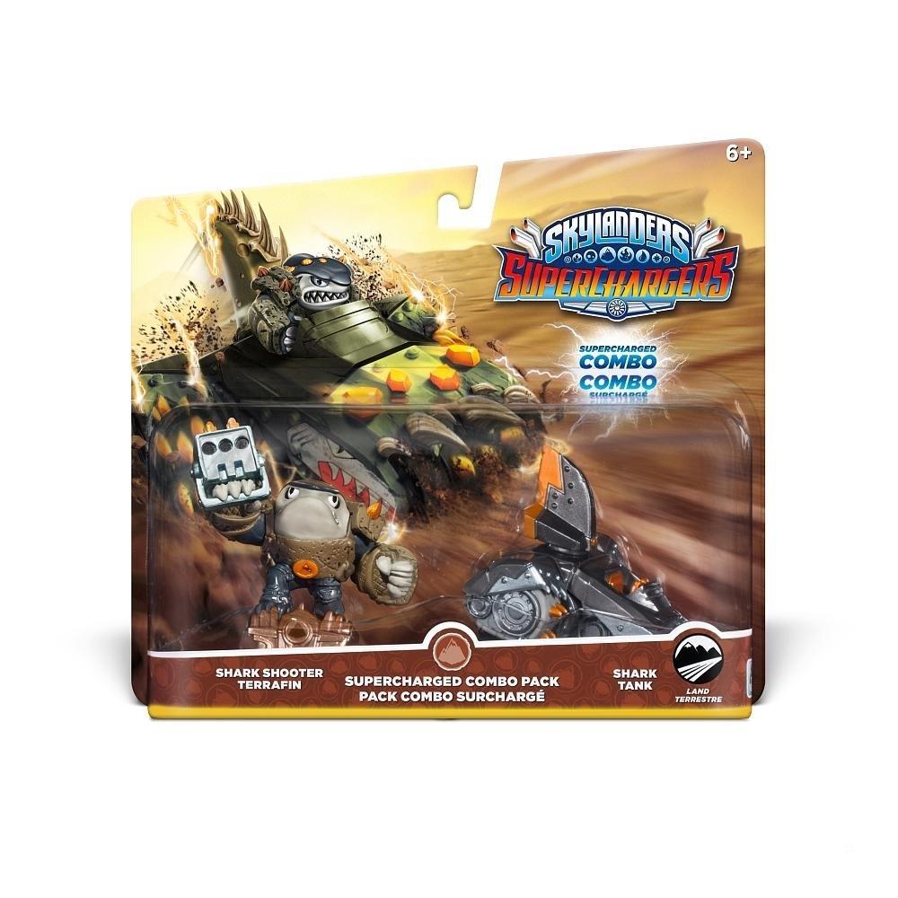 Skylanders SuperChargers Dual Pack 1 : Shark Shooter Terrafin/Shark Tank (Toy)