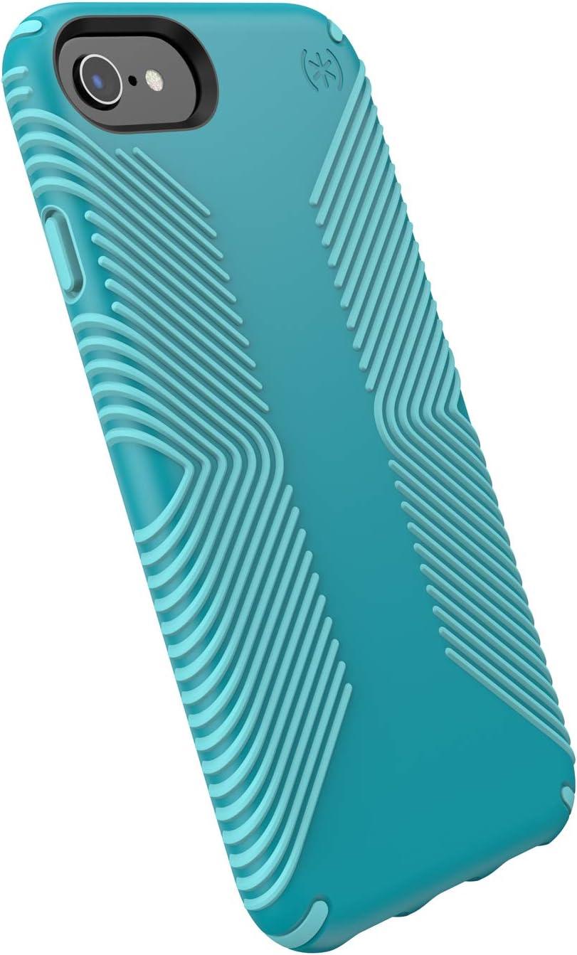 Speck Presidio Grip iPhone SE 2020 Case/iPhone 8/iPhone 7/iPhone 6S Case, Bali Blue/Skyline Blue (132086-8528)