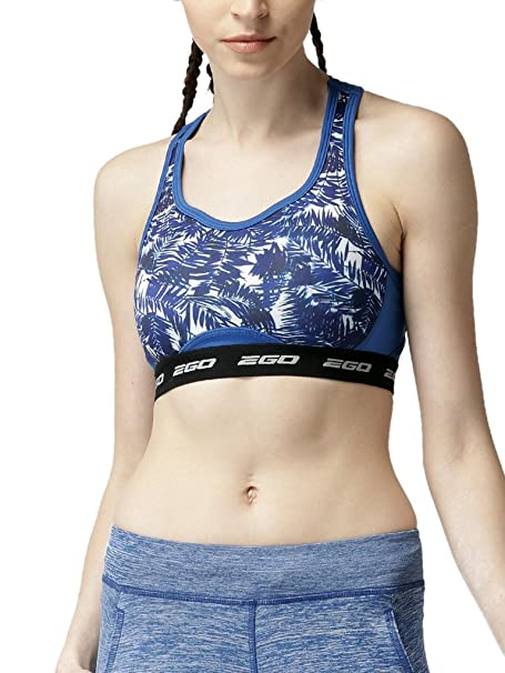 de8dd3d345a3c 2Go Go Dry Padded Sports Bra  Amazon.in  Clothing   Accessories