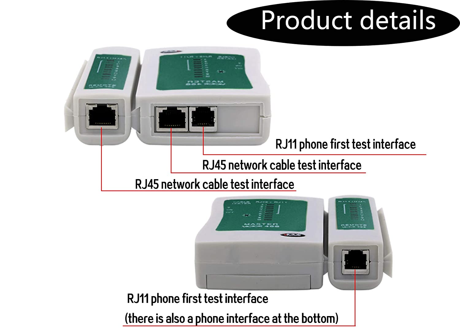 Network Cable Tester Lydia88 Network Tester Phone Multifunction Tester .Network Tool Kit