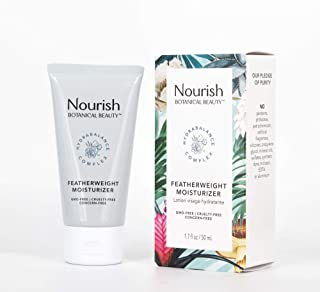 product image for Nourish Botanical Beauty | Featherweight Moisturizer w/ HydraBalance Complex| GMO-Free, Cruelty Free, 100% Vegan (1.7oz)