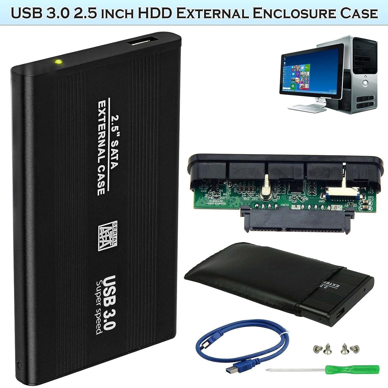 2.5 inch SATA Hard Drive External Enclosure USB 3.0 HDD Case