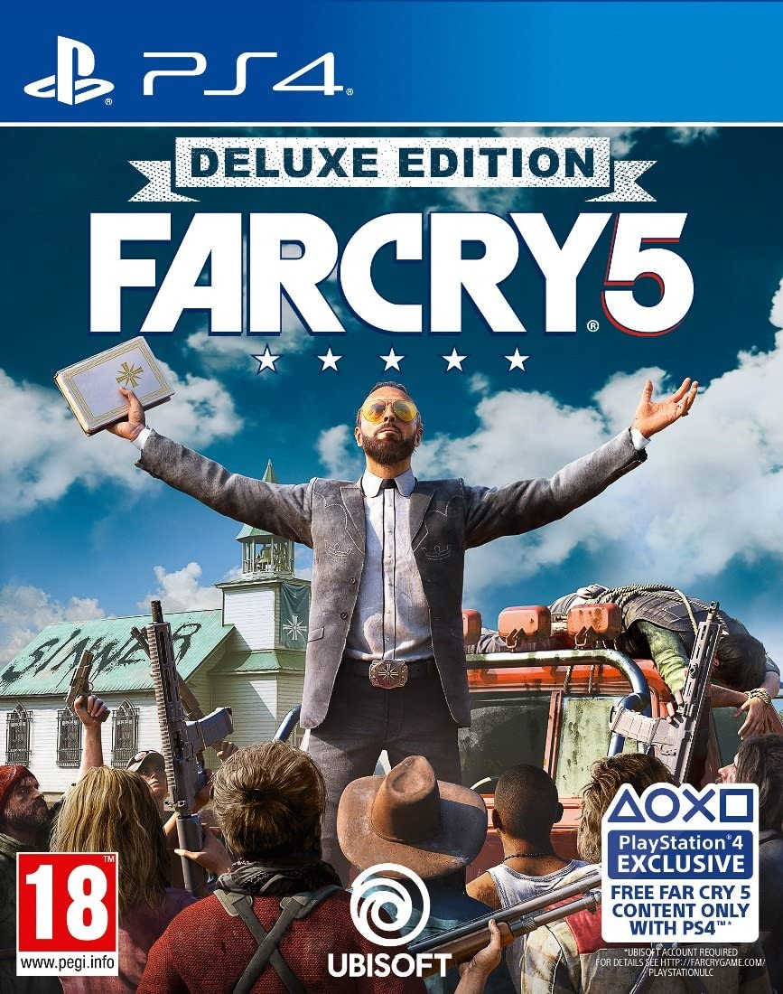 Far Cry 5 Deluxe Edition: Amazon.es: Videojuegos