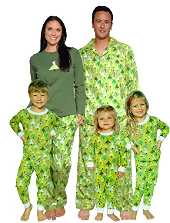 SleepytimePjs Christmas Family Matching Pyjamas (Trees e7b73fe7d
