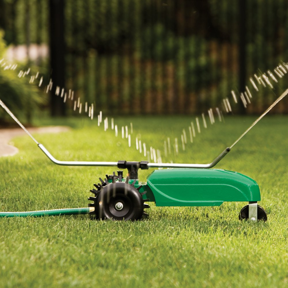 5 best lawn sprinkler for large lawns small lawns 2018 When is the best time to water your garden