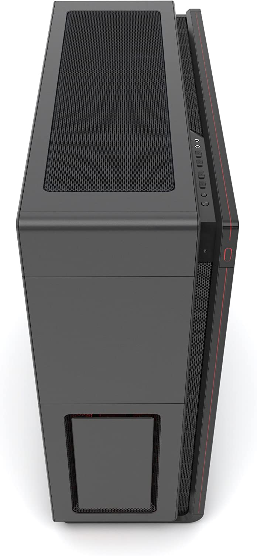 Phanteks Enthoo Series Primo Aluminum ATX Ultimate Full Tower Computer Case PH-ES813P/_SRD Black//Red