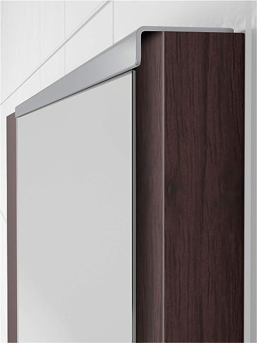 IKEA 702.049.42 Lillången - Espejo, Color Negro y marrón: Amazon.es: Hogar