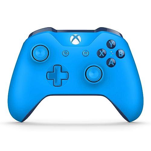 Microsoft Mando Inalámbrico Color Azul Xbox One Bluetooth