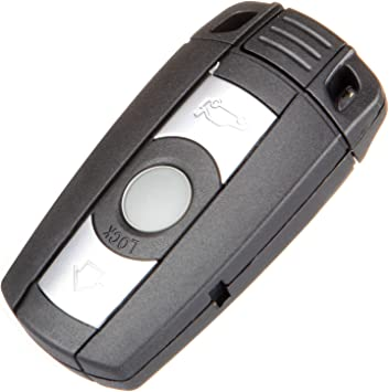ECCPP Replacement fit for 1PC 3-Button 868MHz Uncut Keyless Entry Remote Key Fob BMW Series KR55WK491